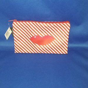 Sephora Striped LIPS Make up Bag
